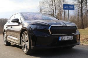 Travelnews.lv pirmo reizi apceļo Latgali 600 km maršrutā ar elektrisko «Škoda Enyaq iV 80» 4