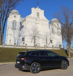 Travelnews.lv pirmo reizi apceļo Latgali 600 km maršrutā ar elektrisko «Škoda Enyaq iV 80» 7
