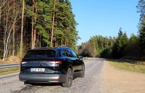 Travelnews.lv pirmo reizi apceļo Latgali 600 km maršrutā ar elektrisko «Škoda Enyaq iV 80» 8