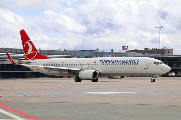 Pēc 539 dienām tūroperators «Tez Tour Latvija» atsāk čarterlidojumus uz Antalju ar «Turkish Airlines» 300300