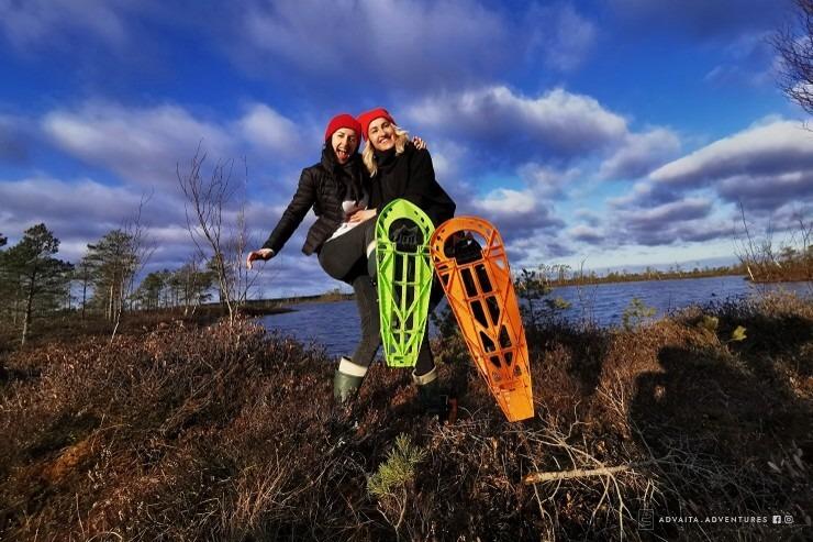 photo: Advaitaadventures.lv: Piedzīvo saullēktu purva gājienā ar purva kurpēm