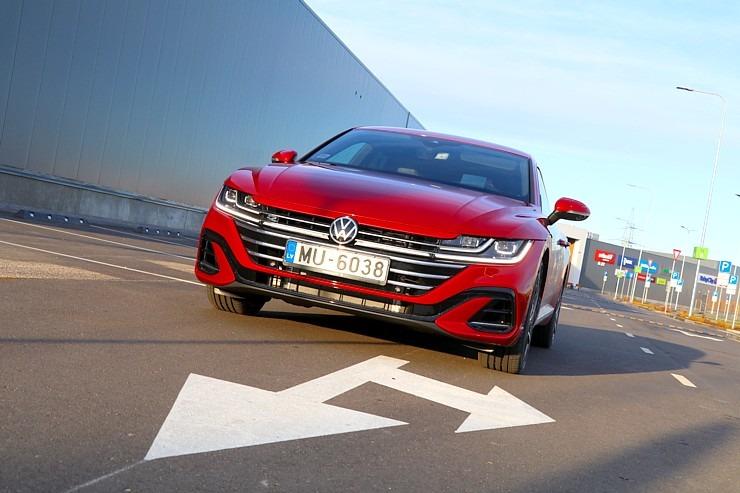 photo: Travelnews.lv apceļo Latviju ar skaisto «Volkswagen Arteon Shooting Brake»