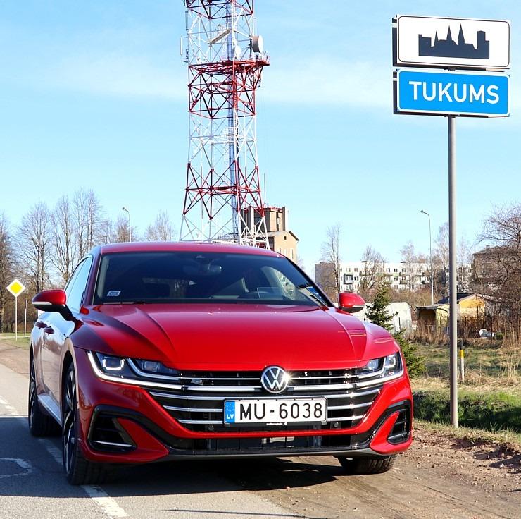Travelnews.lv apceļo Latviju ar skaisto «Volkswagen Arteon Shooting Brake» 300339