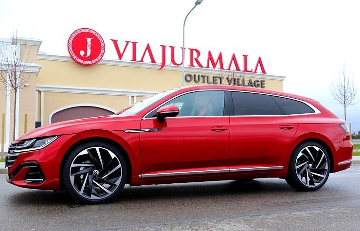 Travelnews.lv apceļo Latviju ar skaisto «Volkswagen Arteon Shooting Brake» 300350