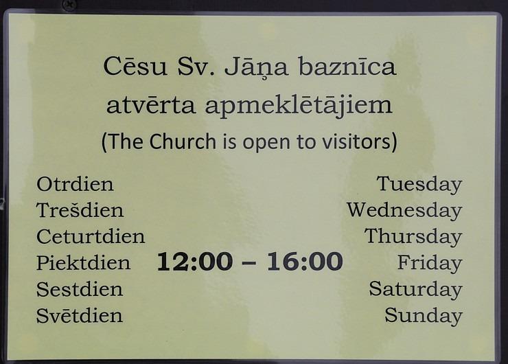Travelnews.lv apmeklē Cēsu Svētā Jāņa evaņģēliski luterisko baznīcu pēc restaurācijas 2020.gadā 300582