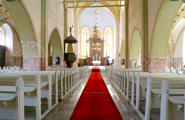 Travelnews.lv apmeklē Cēsu Svētā Jāņa evaņģēliski luterisko baznīcu pēc restaurācijas 2020.gadā 300583