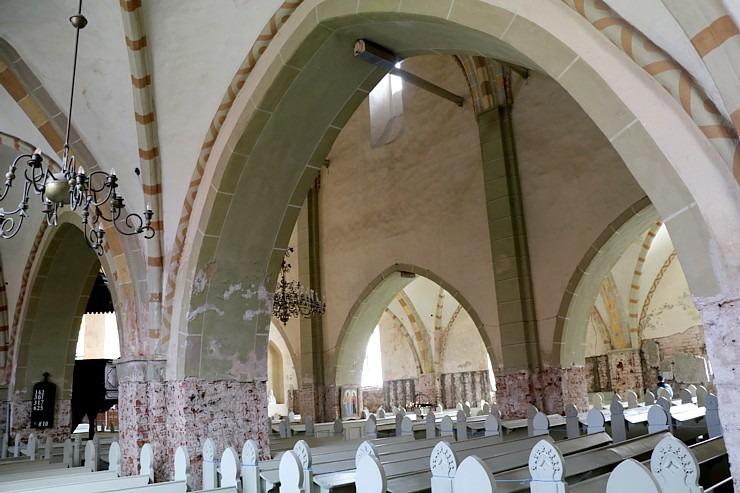 Travelnews.lv apmeklē Cēsu Svētā Jāņa evaņģēliski luterisko baznīcu pēc restaurācijas 2020.gadā 300585