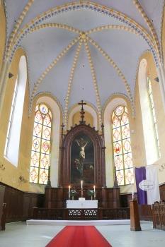 Travelnews.lv apmeklē Cēsu Svētā Jāņa evaņģēliski luterisko baznīcu pēc restaurācijas 2020.gadā 8