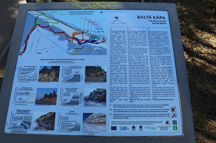 Travelnews.lv apmeklē Balto kāpu Saulkrastos 300623