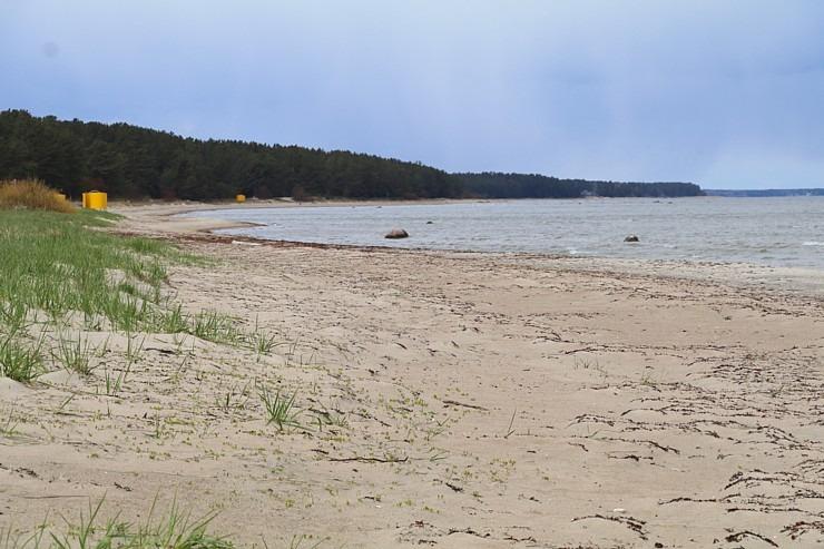 Travelnews.lv dodas 20 km pārgājienā gar Rīgas līča krastu Engures pusē 300891