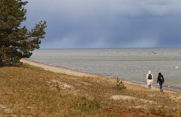Travelnews.lv dodas 20 km pārgājienā gar Rīgas līča krastu Engures pusē 300895