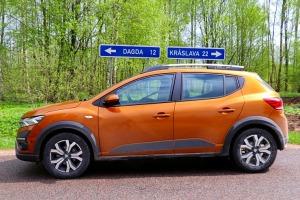 Travelnews.lv ar jauno «Dacia Sandero» apceļo Latgali un iepazīst burvīgu naktsmītni 3