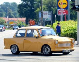 Saksijas pilsēta Cvikava slavējas ar garšīgu virtuvi un DDR laika būvētiem spēkratiem «Trabant» 21