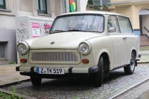 Saksijas pilsēta Cvikava slavējas ar garšīgu virtuvi un DDR laika būvētiem spēkratiem «Trabant» 23