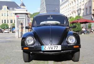 Saksijas pilsēta Cvikava slavējas ar garšīgu virtuvi un DDR laika būvētiem spēkratiem «Trabant» 27