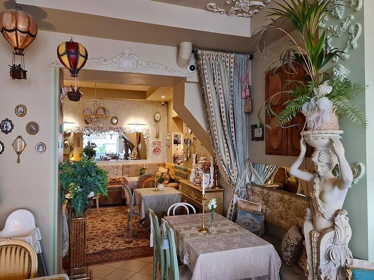 Travelnews.lv izbauda Rīgas restorāna «Café Mio» viesmīlību un romantisko interjeru 306742