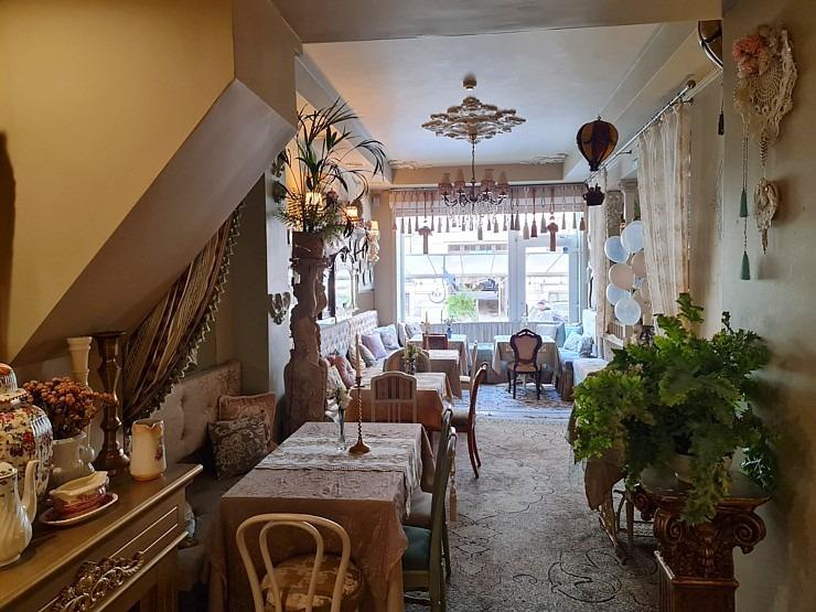 Travelnews.lv izbauda Rīgas restorāna «Café Mio» viesmīlību un romantisko interjeru 306745