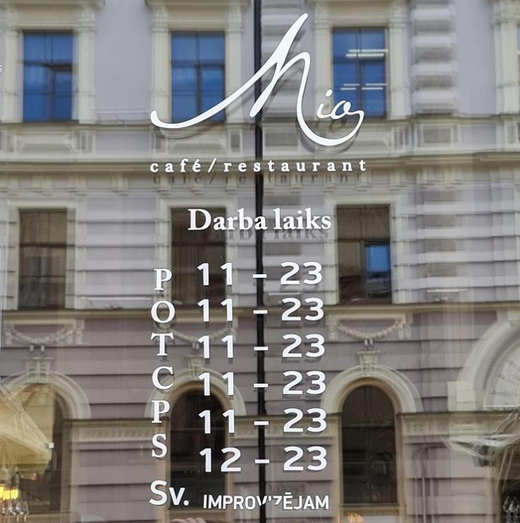 Travelnews.lv izbauda Rīgas restorāna «Café Mio» viesmīlību un romantisko interjeru 306760
