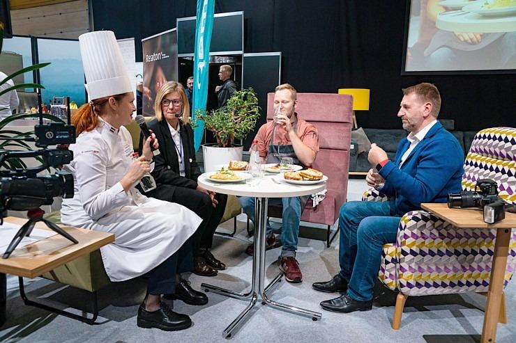 «Riga Food 2021» viesistabā 9.09-10.09.2021 risinās 3 stundu Pavāru kluba «Virtuves sarunas». Foto: Sergejs Melkonovs 306815