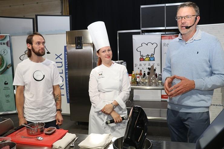 «Riga Food 2021» viesistabā 9.09-10.09.2021 risinās 3 stundu Pavāru kluba «Virtuves sarunas» 306817