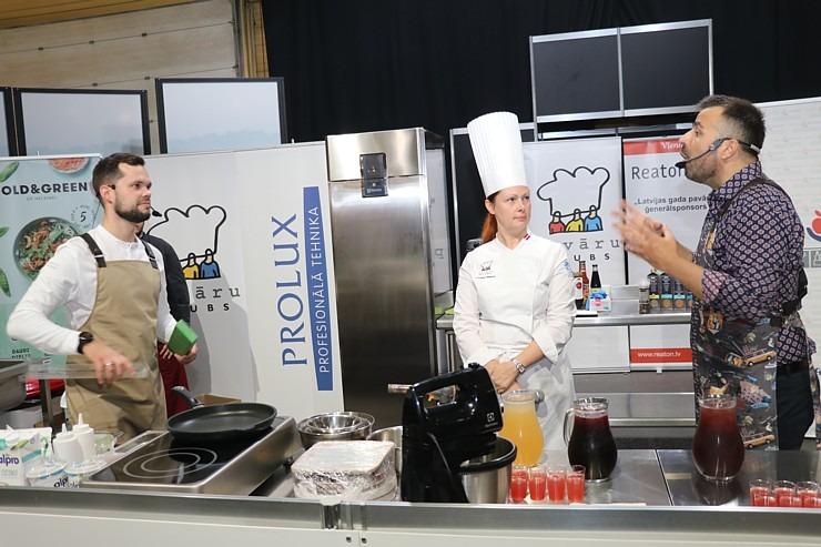 «Riga Food 2021» viesistabā 9.09-10.09.2021 risinās 3 stundu Pavāru kluba «Virtuves sarunas» 306831