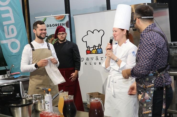 «Riga Food 2021» viesistabā 9.09-10.09.2021 risinās 3 stundu Pavāru kluba «Virtuves sarunas» 306837