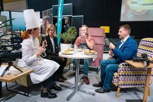 «Riga Food 2021» viesistabā 9.09-10.09.2021 risinās 3 stundu Pavāru kluba «Virtuves sarunas». Foto: Sergejs Melkonovs 24