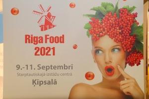 Ķīpsalā pēc ilgas pauzes ir jauna izstāde «Riga Food 2021» 1