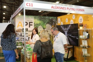 Ķīpsalā pēc ilgas pauzes ir jauna izstāde «Riga Food 2021» 33