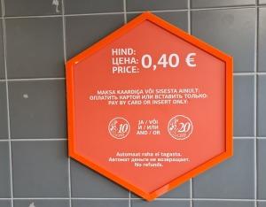 Travelnews.lv no Tallinas lidostas (20-25 min) kājām dodas uz Tallinas autoostu, lai ceļotu uz Sāremā 19