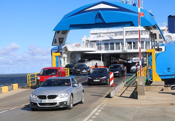 Travelnews.lv ar sabiedrisko transportu ceļo maršrutā Tallina - Muhu sala - Sāremā 306979