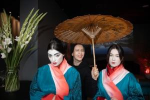 Digital Art House piedāvā imersīvās izstādes pirmizrādi – «Japānas sapņi – Plūstošās pasaules tēli». Foto: Digital Art House 5