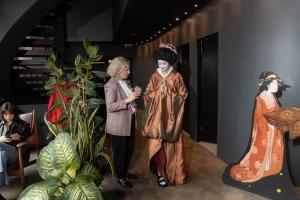 Digital Art House piedāvā imersīvās izstādes pirmizrādi – «Japānas sapņi – Plūstošās pasaules tēli». Foto: Digital Art House 7