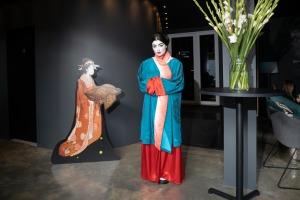 Digital Art House piedāvā imersīvās izstādes pirmizrādi – «Japānas sapņi – Plūstošās pasaules tēli». Foto: Digital Art House 8