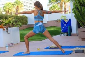 Travelnews.lv apmeklē jogas nodarbību Tenerifes luksus viesnīcā «Hotel Vulcano» 1