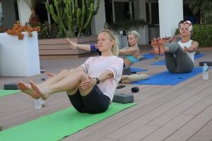 Travelnews.lv apmeklē jogas nodarbību Tenerifes luksus viesnīcā «Hotel Vulcano» 12