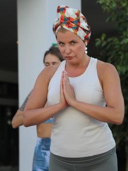 Travelnews.lv apmeklē jogas nodarbību Tenerifes luksus viesnīcā «Hotel Vulcano» 17