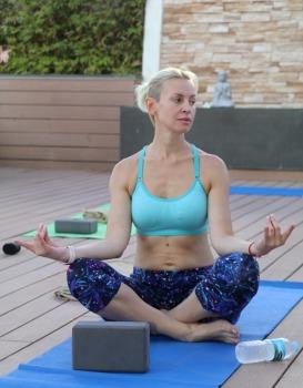 Travelnews.lv apmeklē jogas nodarbību Tenerifes luksus viesnīcā «Hotel Vulcano» 19