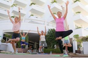 Travelnews.lv apmeklē jogas nodarbību Tenerifes luksus viesnīcā «Hotel Vulcano» 2