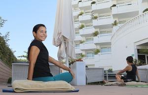 Travelnews.lv apmeklē jogas nodarbību Tenerifes luksus viesnīcā «Hotel Vulcano» 21