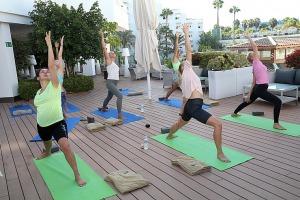 Travelnews.lv apmeklē jogas nodarbību Tenerifes luksus viesnīcā «Hotel Vulcano» 5