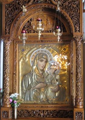 Bazilika izceļas ar skaistām freskām un unikālām mozaīkām