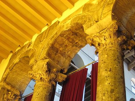 Arkas rotā marmora mozaīka