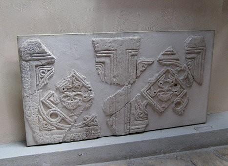 Saglabājušās fresku daļas