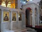 Bazilika atgādina par agrās kristietības laikiem un ir viens no iespaidīgākajiem Grieķijas pareiztīcības pieminekļiem 2