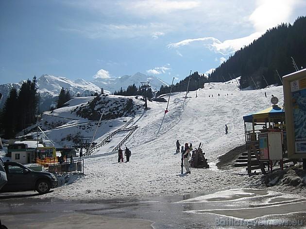 Bad Gasteinā trases ir īsākās-ļoti labas iesācējiem. To garumi ir no 1 km līdz pat 7 km. Lai izbaudītu garākas trases ir jādodas uz blakus ciematu tra