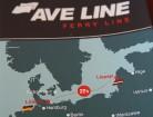 Prāmju līnija <i>Ave Line</i> starp Liepāju un Lībeku šajā vasarā ir izcila ideja, lai kopā ar ģimeni un personīgo automašīnu dotos ceļojumā uz Rietumeiropu