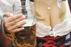 Sievietēm neiztrūkstošs elements ir simpātisks dekoltē. Foto: Focus.de un Deutschland-tourismus.de 7