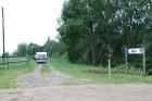 Pie Latvijas devītā lielākā ezera Sīvers (Sivera azars) atrodas kempings Siveri 3