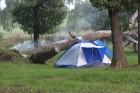 Lielākā ceļotāju daļa ierodas ar teltīm 7